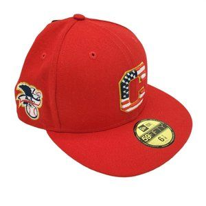 Cleveland Indians 4th Of July Collection Hat NWT